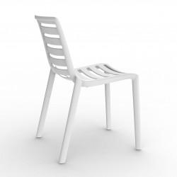 Krzesło Slatkat białe