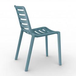 Krzesło Slatkat niebieskie
