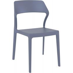 Krzesło Snow szare