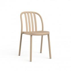 Krzesło Sue Lama piaskowe