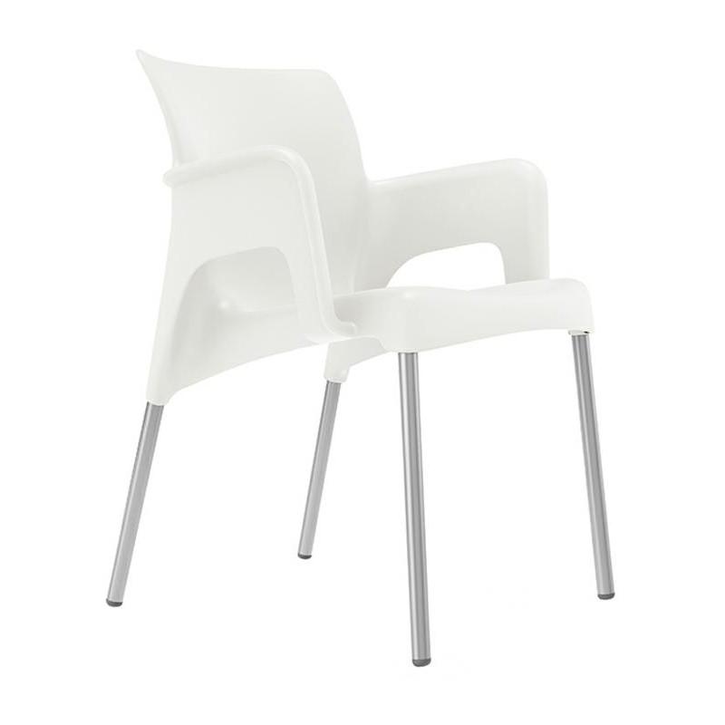 Krzesło Sun białe