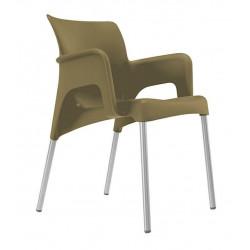 Krzesło Sun brązowe