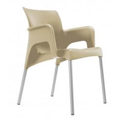 Krzesło Sun piaskowe
