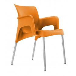 Krzesło Sun pomarańczowe