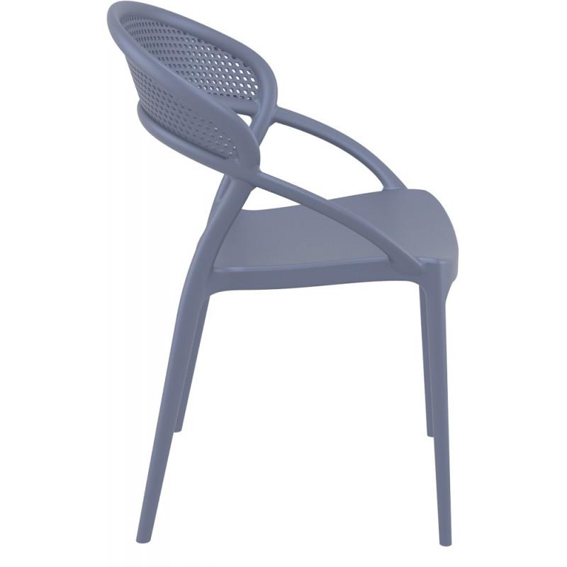Krzesło Sunset szare