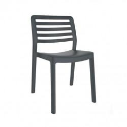 Krzesło Wind szary ciemny