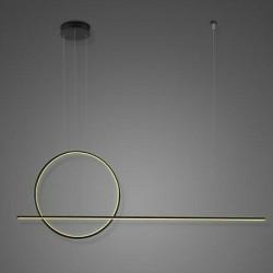 Lampa wisząca Linea No. 2 czarna 3K