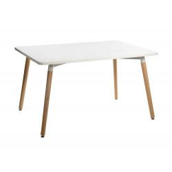 Stół Copine blat biały 160x90 cm