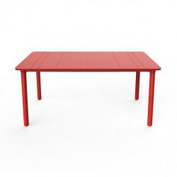 Stół Noa czerwony 160x90