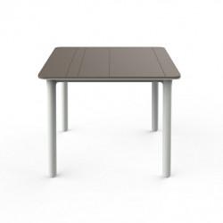 Stół Noa piaskowy/ biały 90x90