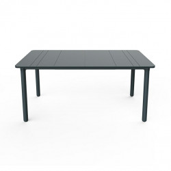 Stół Noa szary ciemny 160x90