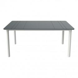 Stół Noa szary/ biały 160x90