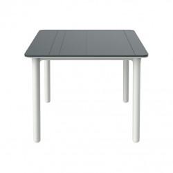 Stół Noa szary/ biały 90x90