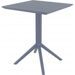 Stół składany Sky ciemny szary