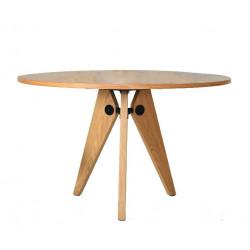 Stół JOSEF 95 naturalny - drewno, metal