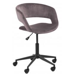 Fotel biurowy na kółkach Grace VIC dusty rose - ACTONA
