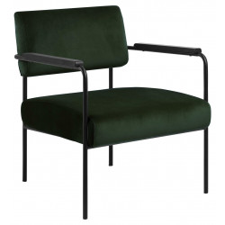 Fotel Cloe VIC forest green - ACTONA