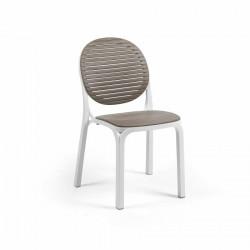 Krzesło Dalia białe/ brazowe - Nardi S.R.L.