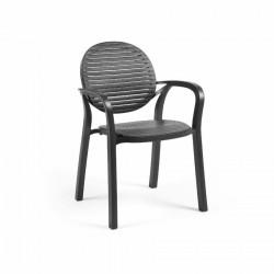 Krzesło Gardenia antracyt - Nardi S.R.L.