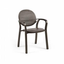 Krzesło Gardenia kawowe - Nardi S.R.L.