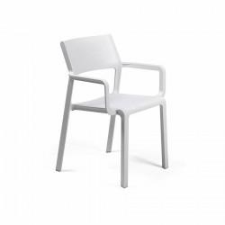Krzesło Trill z podłokietnikami białe - Nardi S.R.L.