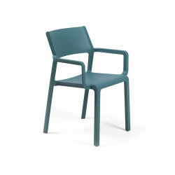 Krzesło Trill z podłokietnikami niebiesk ie - Nardi S.R.L.