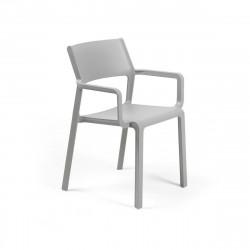 Krzesło Trill z podłokietnikami szare - Nardi S.R.L.