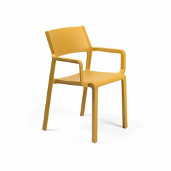 Krzesło Trill z podłokietnikami żółte - Nardi S.R.L.