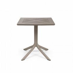 Stół Clip 70x70 beżowy - Nardi