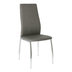 Zestaw 2 krzeseł Venus ciemny szary - Simplet
