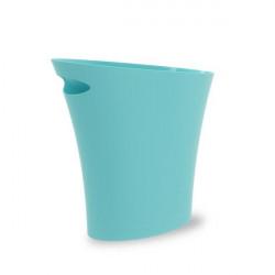 UMBRA kosz na śmieci SKINNY - surf blue