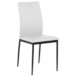 Krzesło Demina white PU - ACTONA