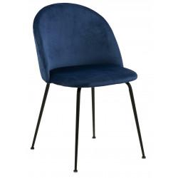 Krzesło Louise Dark blue - ACTONA