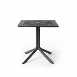 Stół Clip X 70x70 antracyt - Nardi