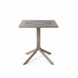 Stół Clip X 70x70 beżowy - Nardi