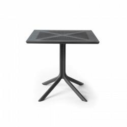 Stół Clip X 80x80 antracyt - Nardi