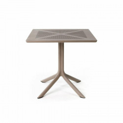 Stół Clip X 80x80 beżowy - Nardi