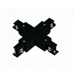 Łącznik X 3F czarny LP-554/3F BK - Light Prestige