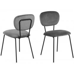 ACTONA krzesło ARIANA - ciemnoszary