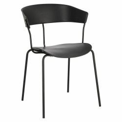 Krzesło Laugar czarne - Intesi