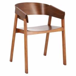Krzesło Lincoln dąb walnut - D2.DESIGN