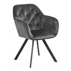 Krzesło Lola VIC Dark grey - ACTONA
