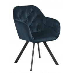 Krzesło Lola VIC Navy Blue - ACTONA