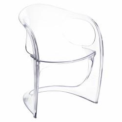 Krzesło Spak transparentne insp. Casalin o - D2.DESIGN