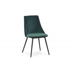 K405 BIS krzesło ciemny zielony - Halmar