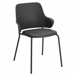 Krzesło Claret czarne/ szare - Intesi