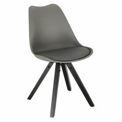 Krzesło Norden Star Square black PP szar e ciemne - Intesi