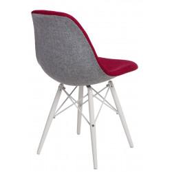 Krzesło P016W Duo czer. szare/white - D2.DESIGN