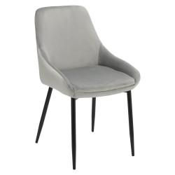 Krzesło Floyd Velvet szare - Intesi