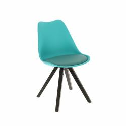 Krzesło Norden Star Square black PP nieb ieskie - Intesi